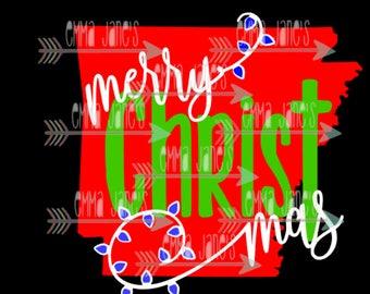 Arkansas Merry Christ Mas