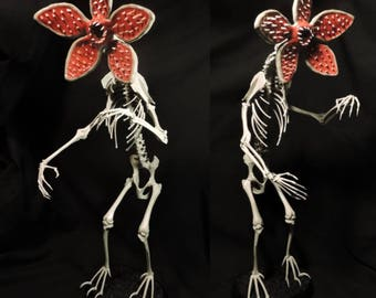 Demogorgon Skeleton - Real Animal Bone Sculpture