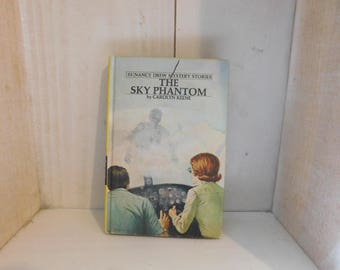 Vintage Nancy Drew Book - The Sky Phantom