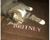 Personalized Cat Blanket ...