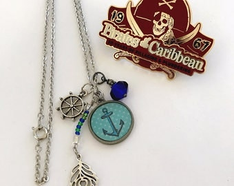 Pirates of the Carribean Inspired Necklace