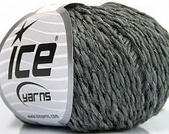 Wool / Yarn 95m / 50g Gray 84% Wool