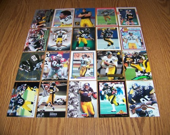 100 Pittsburgh Steelers Football Cards