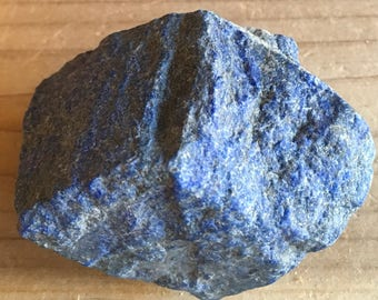 Lapis Lazuli Healing Stone, Large Rough Natural Stone, Raw Stone, Healing Crystal, Spiritual Stone, Meditation