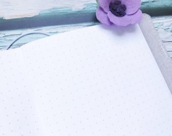 Traveler's Notebook B6 Size Dot Inserts