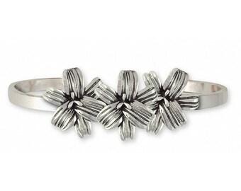 Lily Bracelet Jewelry Sterling Silver Handmade Flower Bracelet LLY-CB