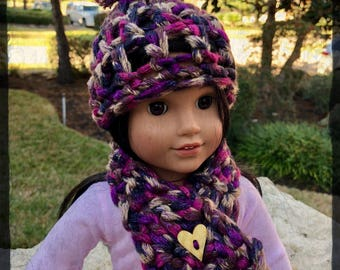 American Girl Doll Crochet Set