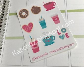 Coffee Love Sticker Sheet