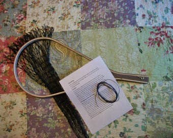 U-Finish Walnut Trout Net Kit(Available with FREE MONOGRAMMED burned in initials, up to two initials only.
