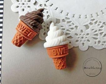 Eraser Ice Cream Cone