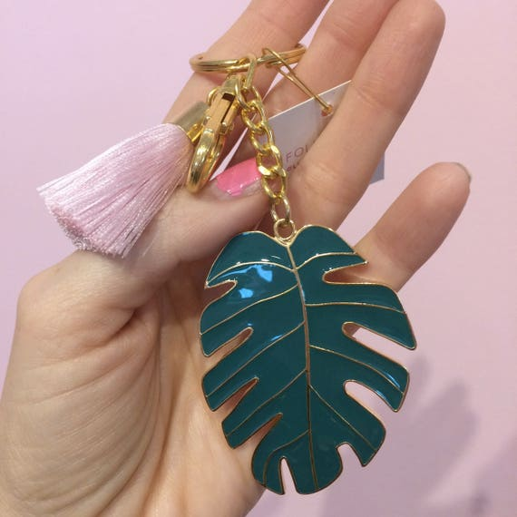 Little Arrow Monstera Keychain