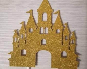 Cake topper fairytale castle