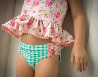 Rosewater Tankini Swimsuit