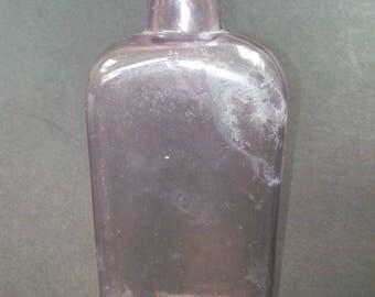 Purple Medicine Bottle 1880's