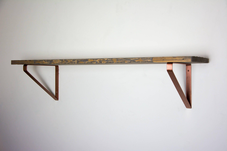 pair of copper shelf brackets newest design heavy duty bracket steel shelf brackets inverted triangle brackets copper brackets