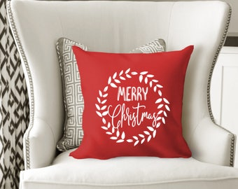 Christmas Pillow Covers 24x24: Throw pillow covers   Etsy,