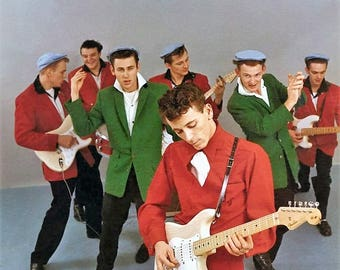 Gene Vincent and his Blue Caps , 1950's
