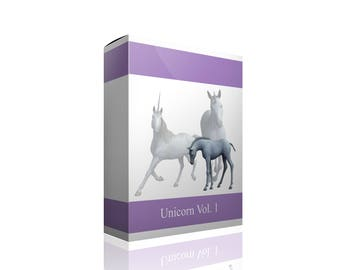 Digital Unicorn Png Photoshop Files