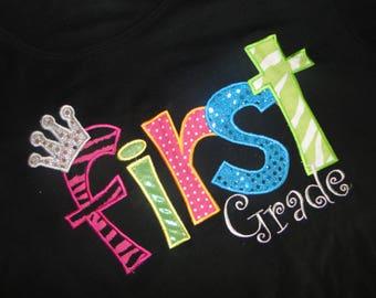 First Grade Teacher T-Shirt - SALE