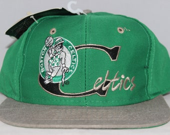 Vintage Deadstock Boston Celtics NBA Snapback Hat