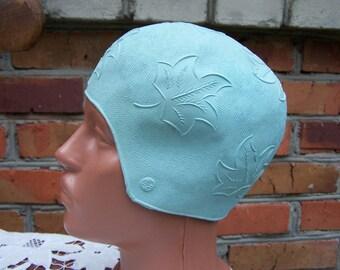 Gorgeous Vintage Swimming Cap. Swimming Bathing Cap Hat.