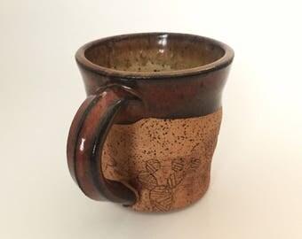 8 oz Prickly Pear Cactus Mug
