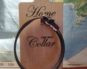 Home is where I wear my Collar - BDSM Collar Storage