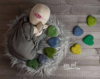 Tiny green heart