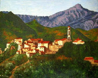 Montemaggiore top Corsican village