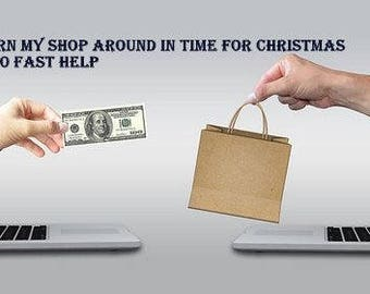 Get my shop ready for Christmas , SEO Help,One on one shop help, SEO Optimization , SEO Shop Review , Shop Critique , Custom Titles & Tags ,