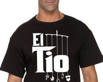 el tio uncle shirt with mobile toys  |  niece, aunt or nephew gift for uncle