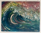 The Wave - Original Painting