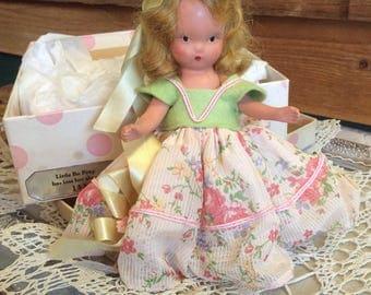Vintage Nancy Ann 159 Little Bo Peep-Bisque with Original Box-Collectible Dolls-Nancy Ann Dolls-Vintage Toys and Dolls
