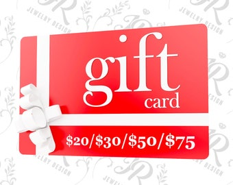 GIFT CARD 20/30/50/75 USD - Buy Gift Certificate - Last Minute Gift - eGift Card - Buy Gift Card - Gift Card - Print at Home