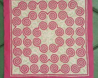 Hmong reverse applique on cotton fabric (H270)