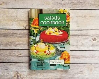 Salads Cookbook Favorite Recipes Press Gelatin Recipes Gross Jello Salads Popular 60s Gelatin Recipes Soft Cover Book Kitchen Must Have Book