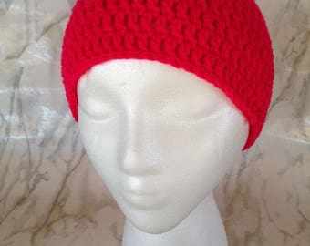 Basic Beanie/Hat/Skullcap - Choose Your Colors and Size - Handcrafted Crochet