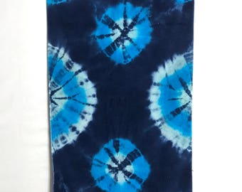 Tie Dye Plush Beach Towel, Super Soft Trippy Bath Towel