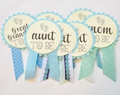 Custom Baby Shower Pins...