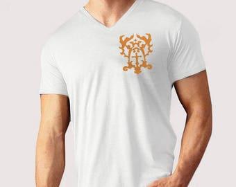 Emblem - V-neck T-Shirt