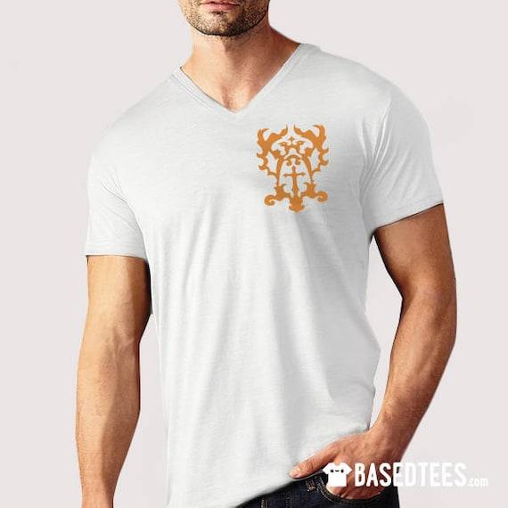 Trevor Belmont Clan emblem - V-neck T-Shirt