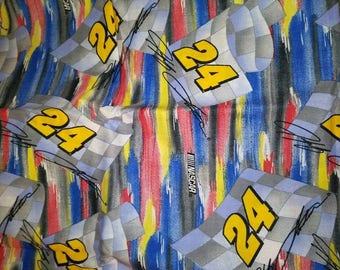 Vintage Jeff Gordon #24 Fabric