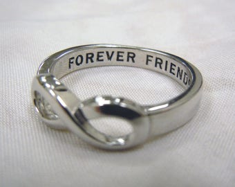 Infinity Ring, Best Friend, Infinity Sister, BFF, Best Friends Ring, Sisters Infinity ring, Mothers Day, Forever Friends Ring