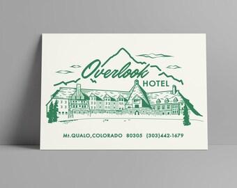 Overlook Hotel Print