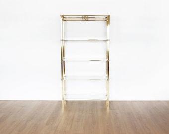 Brass Bookcase