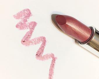 PILLOW TALK Natural VANILLA Mineral Lipstick -  Gluten Free Shea Butter Lipstick