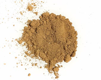RUSTIC HONEY Mineral Foundation - Loose Powder Mineral Makeup - Gluten Free / Vegan