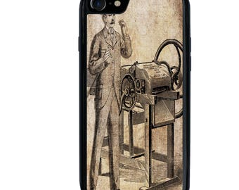 iPhone 5 5s 6 6s 6+ 6s+ SE 7 7+ iPod 5 6 Phone Case, Steampunk, Steam Punk, Father's Day, Plus