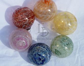 Hand Blown Glass Christmas Ornaments Garden Sun-catchers Gifts Decor