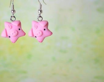 Kawaii Pig Stars